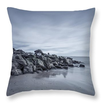 Surrender To The Sea Throw Pillow