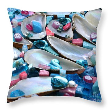 Surrender Throw Pillow by Valerie Fuqua