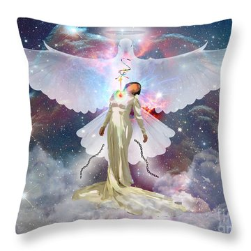 Surrendered Bride Throw Pillow
