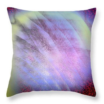 Throw Pillow featuring the photograph Designing Energy by Kellice Swaggerty