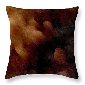Survival Throw Pillow by James Barnes