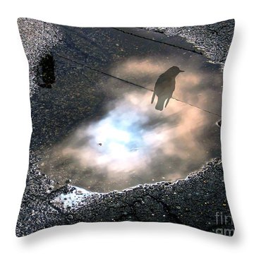 Surviving The Storm Throw Pillow