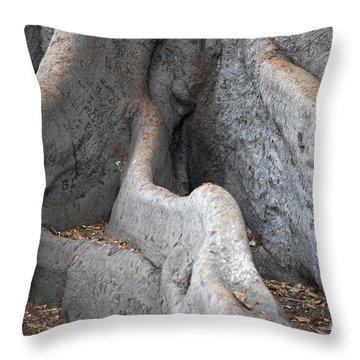 Survivor2 Throw Pillow by Amanda Barcon