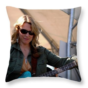 Susan Tedeschi Throw Pillow