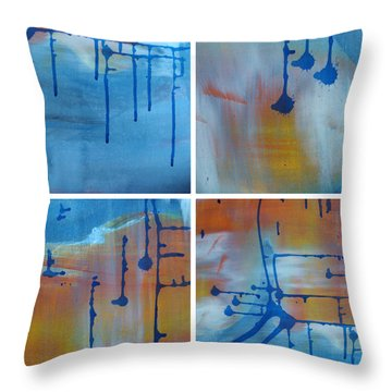 Throw Pillow featuring the photograph Susans Curves Are Beautiful by Sir Josef - Social Critic - ART