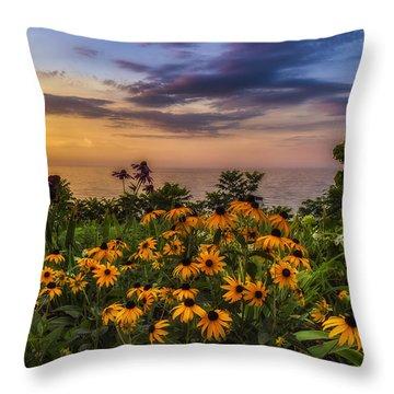 Susan's Sunset Throw Pillow