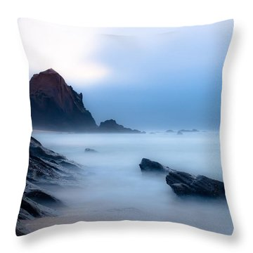 Suspended In The Infinite Throw Pillow by Edgar Laureano