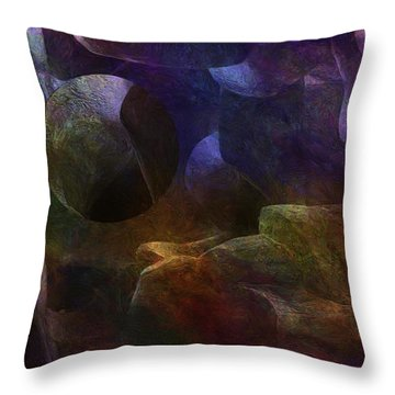 Suspended Throw Pillow by Jack Zulli