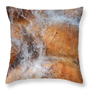 Suspended Motion Throw Pillow