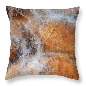Suspended Motion Throw Pillow by Glenn McCarthy Art and Photography