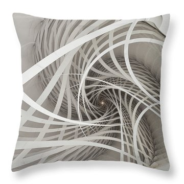 Suspension Bridge-fractal Art Throw Pillow