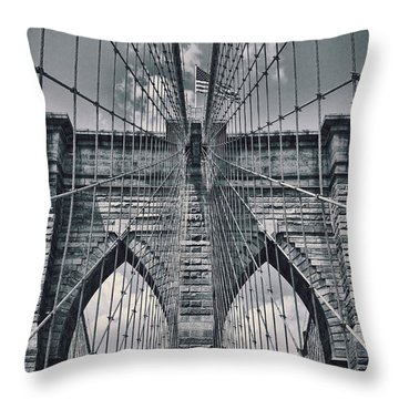 Suspension Throw Pillow by Kelley King