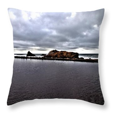 Sutro Baths Pool Throw Pillow