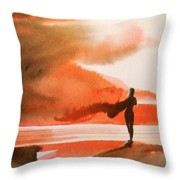 Suva  Throw Pillow