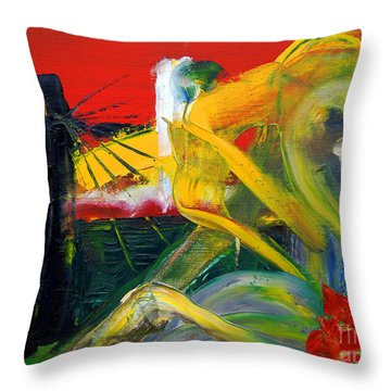 Suzanne's Dream IIi Throw Pillow