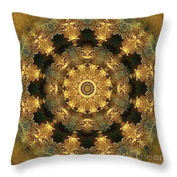 Svadhisthana Chakra Mandala - Spiritual Art By Giada Rossi Throw Pillow