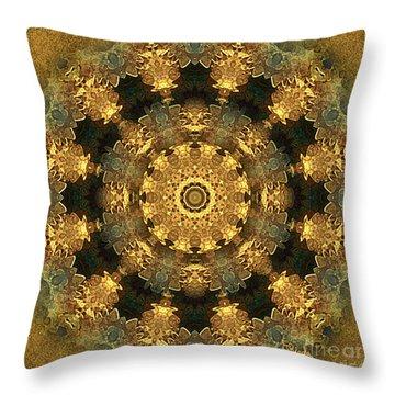 Svadhisthana Chakra Mandala - Spiritual Art By Giada Rossi Throw Pillow by Giada Rossi