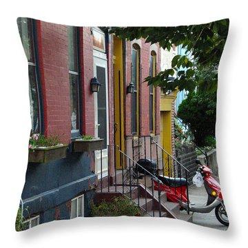 Swain Street Throw Pillow