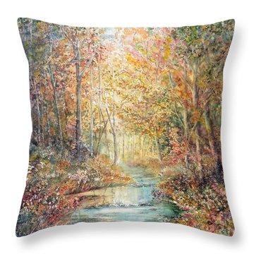 Swallows Creek Throw Pillow