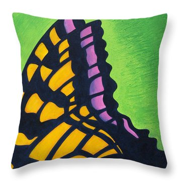 Swallowtail Signal Throw Pillow