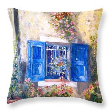 Sweet Ansouis Throw Pillow