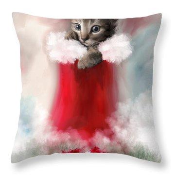 Sweet Christmas Throw Pillow