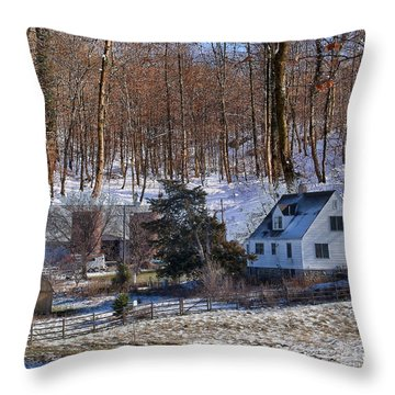Sweet Country Charm Throw Pillow by Liane Wright