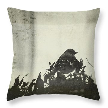 Throw Pillow featuring the photograph Sweet Disposition by Trish Mistric