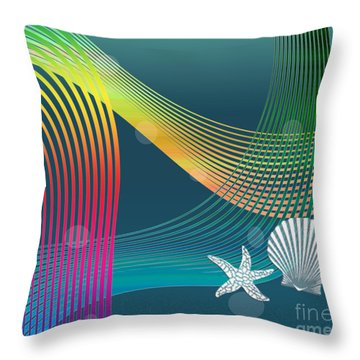 Sweet Dreams2 Abstract Throw Pillow