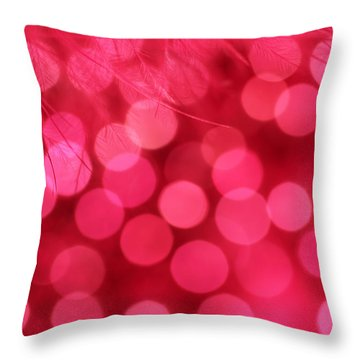 Throw Pillow featuring the photograph Sweet Emotion by Dazzle Zazz
