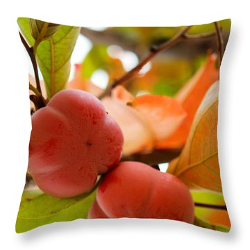 Throw Pillow featuring the photograph Sweet Fruit by Erika Weber