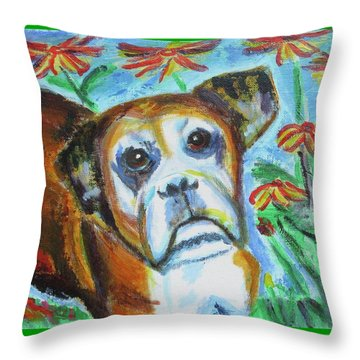 Sweet Ginger Throw Pillow