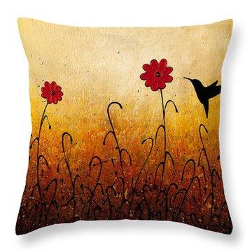 Sweet Inspiration Throw Pillow