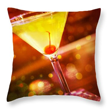 Sweet Martini  Throw Pillow