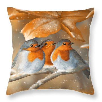 Sweet Nature Throw Pillow