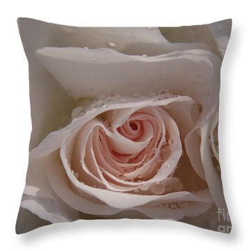 Sweet Opening Throw Pillow