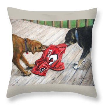 Sweet Revenge Throw Pillow