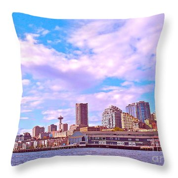 Sweet Seattle Throw Pillow