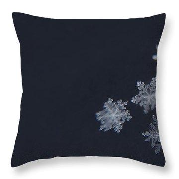 Sweet Snowflakes Throw Pillow