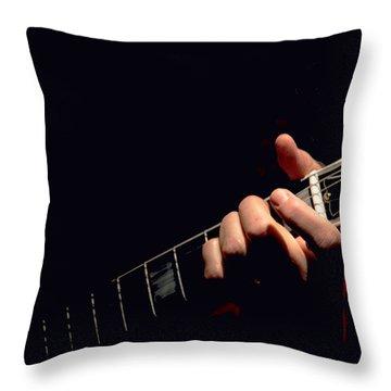 Sweet Sounds Throw Pillow by John Stuart Webbstock
