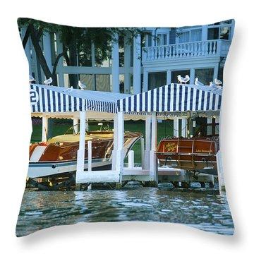 Sweet Tandem - Lake Geneva Wisconsin Throw Pillow