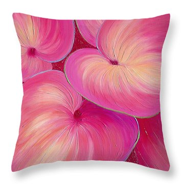 Sweet Tarts II Throw Pillow