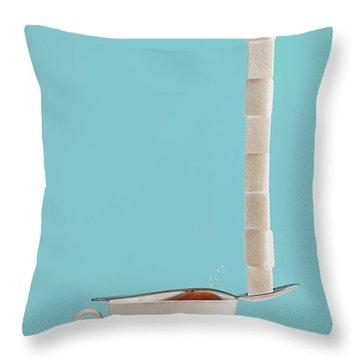 Cubes Throw Pillows