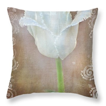 Sweet Tranquility Throw Pillow by Lena Wilhite