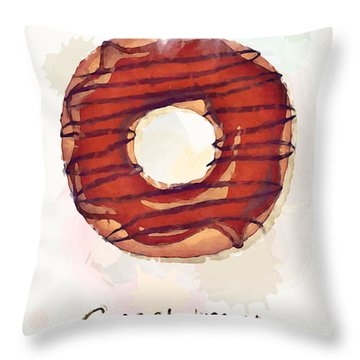 Sweet Treat.jpg Throw Pillow