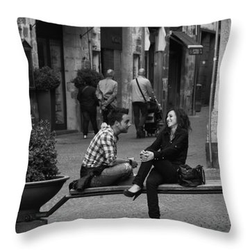 Sweet Youth Throw Pillow