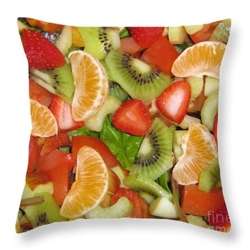 Throw Pillow featuring the photograph Sweet Yummies by Janice Westerberg