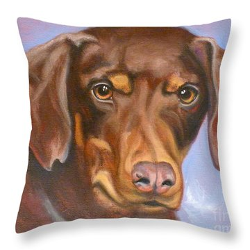 Rescued At Last Throw Pillow