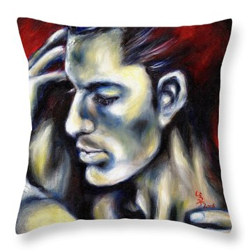 Sweetest Taboo Throw Pillow