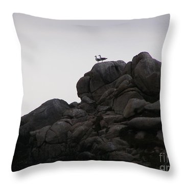 Sweethearts Throw Pillow by Bev Conover